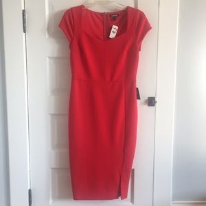 NWT Express Red Cocktail Dress